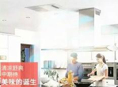 大金家用中央利发国际官方网厨房专用机消灭厨房高温