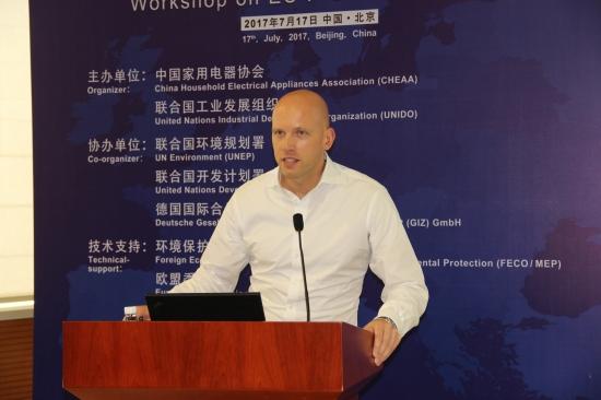 SHECCO亚太区商务拓展经理Jan Dusek