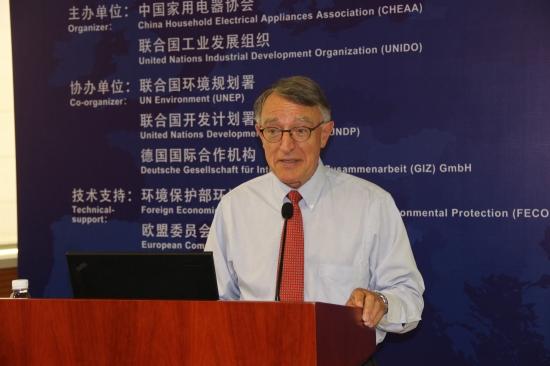 欧洲能源与环境合作组织专家Paul de Larminat