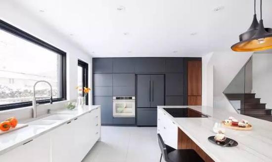 打造品质厨房 嵌入式冰箱让厨房风格更统一
