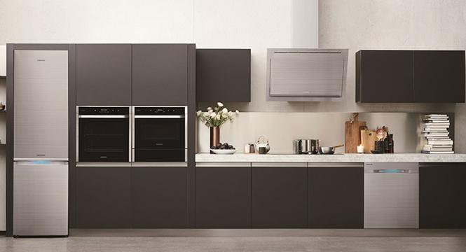 嵌入式冰箱让厨房风格更统一