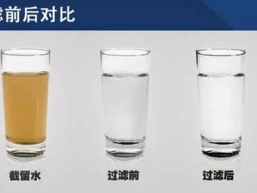 一定要装净水器的理由   从此喝上放心水