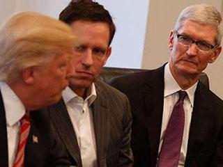 """特朗普""""苹果在美建三厂""""或故意让库克难堪"""