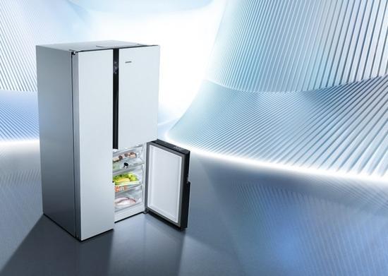 """""""鲜""""人一步 西门子家电零度对开门冰箱"""