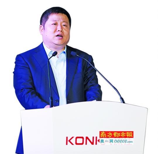 董事局主席刘凤喜:康佳要转型投资控股平台