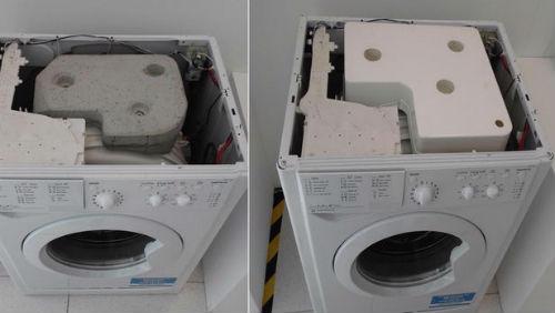 告别死沉 不带混凝土的滚筒洗衣机问世
