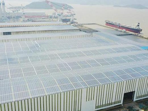 全球最大太阳能光伏造船厂项目启用!