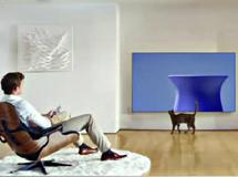 大屏才是电视趋势?没有曲面屏那将很无趣