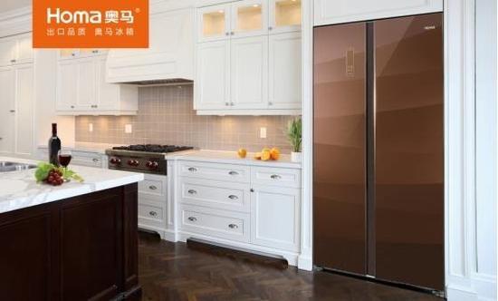 首台超薄冰箱面世 解决大冰箱嵌入难的痛点
