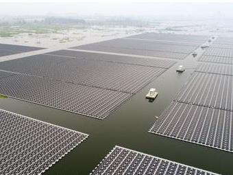 中国启动全球最大浮动太阳能电厂 !