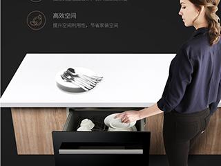 适合中式家庭像拉抽屉一样用的洗碗机