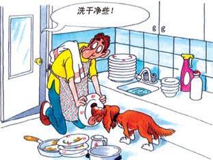 能洗锅的洗碗机,洗碗机中的战斗机