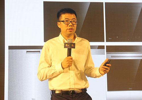 美的厨房事业部国内营销公司嵌入式营销部部长梁正涛