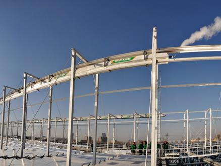 江苏首个中高温太阳能项目开工