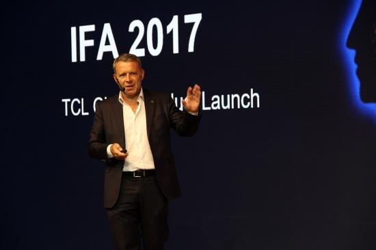 IFA2017:TCL正式发布三大系列全球电视新品