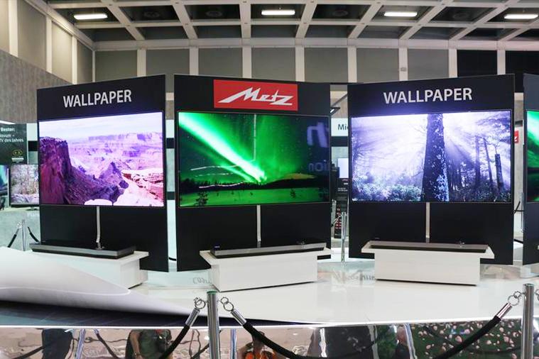 IFA2017聚焦创维新品 墙纸电视实力首发