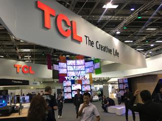 IFA2017 TCL X6 XESS私人影院诠释影音的艺术
