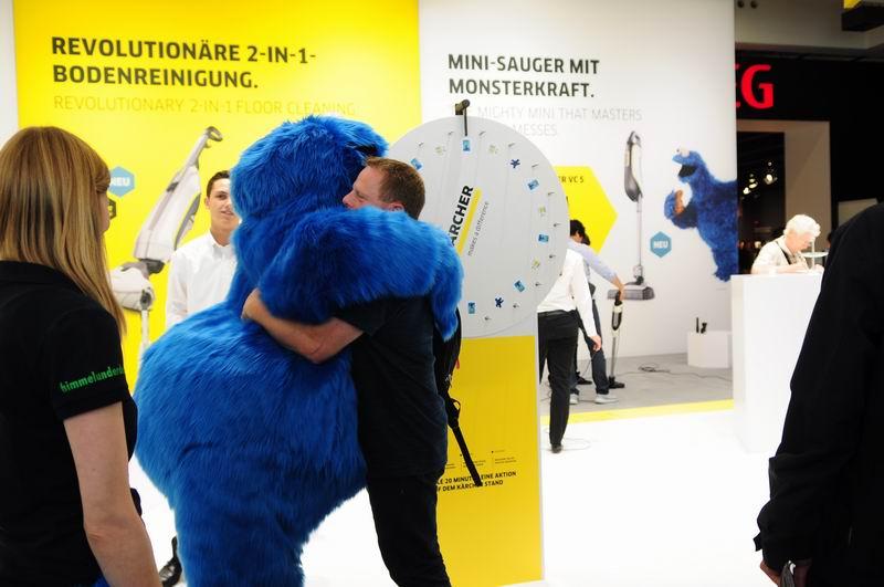 德国品牌凯驰的展会 竟然被它承包了