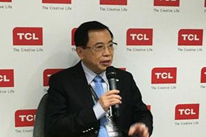 TCL李东生:三至五年在智能制造领域超越三星