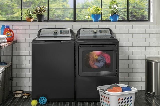 GE推智能利发国际利发国际手机客户端版 根据不同衣服自动分配洗衣液