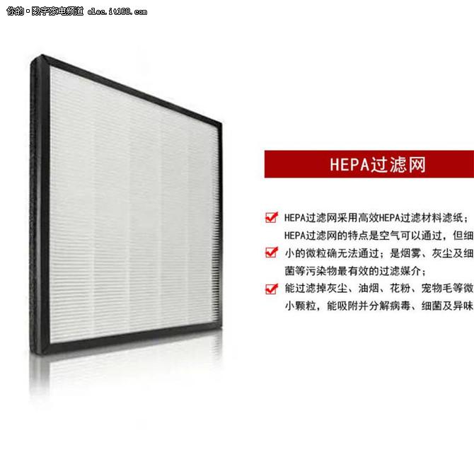 了解HEPA滤网 让空气净化器用的更持久