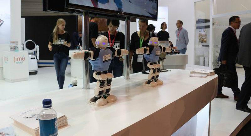 赶超日本 IFA2017约三成机器人厂来自中国