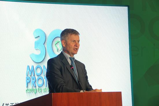 联合国副秘书长、联合国环境规划署执行主任埃里克.索尔海姆