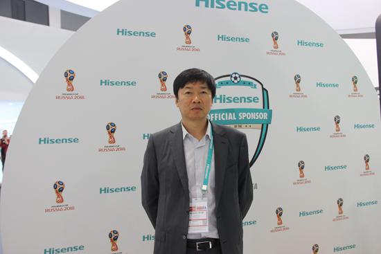 海信欧洲总经理韩建民