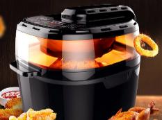 吃货必备 无烟360°热风均匀加热空气炸锅