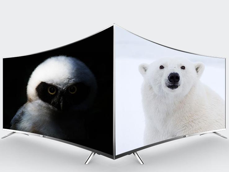 最爱TA那抹弧线 品质级曲面电视为您呈现