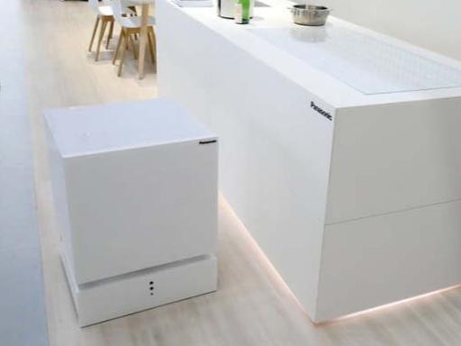 懒癌患者最爱 可移动的冰箱将饮料送到你面前