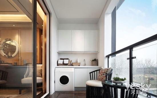 摆放学问多 洗衣机该放阳台还是卫生间?