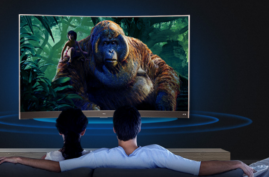 再现弧度魅力 这些曲面电视让客厅更瞩目