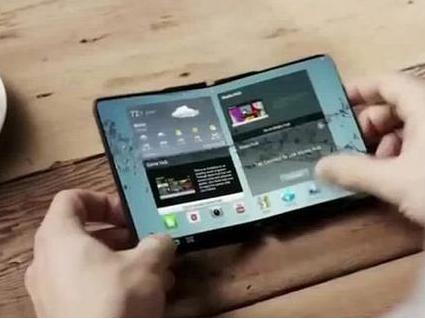 传三星Galaxy X可折叠手机年内亮相,很酷!