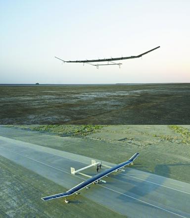 太阳能无人机无限续航?