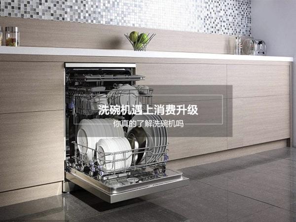 洗碗机遇上消费升级 你了解洗碗机吗?