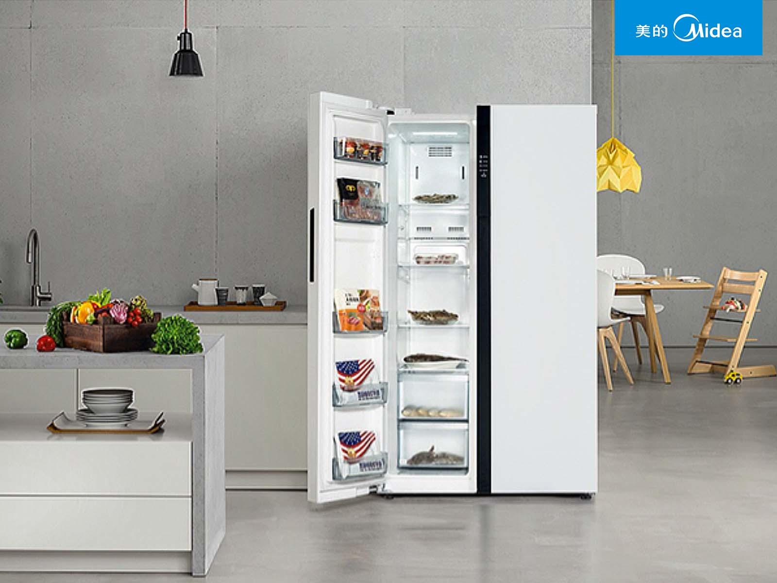 美的冰箱格局重构 轻薄+保鲜+净味储鲜新体验