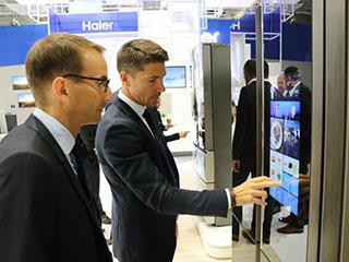 中轻联:海尔馨厨冰箱智能交互技术国际领先