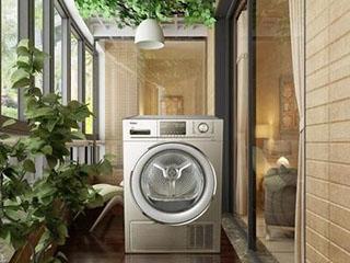 当降雨遇到降温这时干衣机显得格外重要