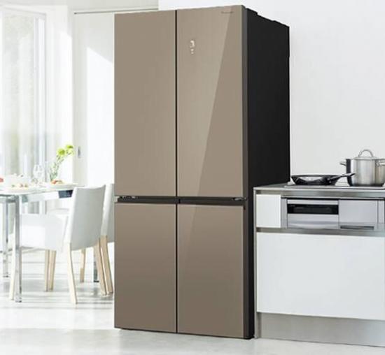 创新微冻实力存鲜松下十字对开冰箱首发
