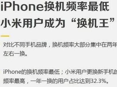 雷军抱怨国民换手机频率低!网友回答亮了