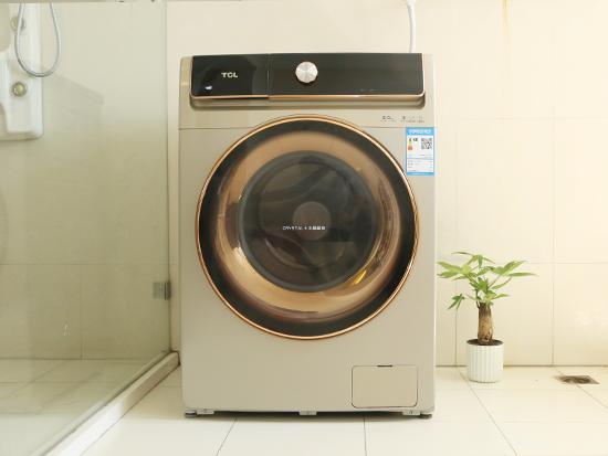 未来科技双倍洁净 TCL免污滚筒洗衣机首评