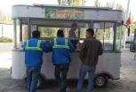 稀罕!新疆这里有辆太阳能快餐车,你见过吗