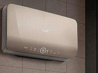 选台高颜值电热水器可为卫浴空间增彩