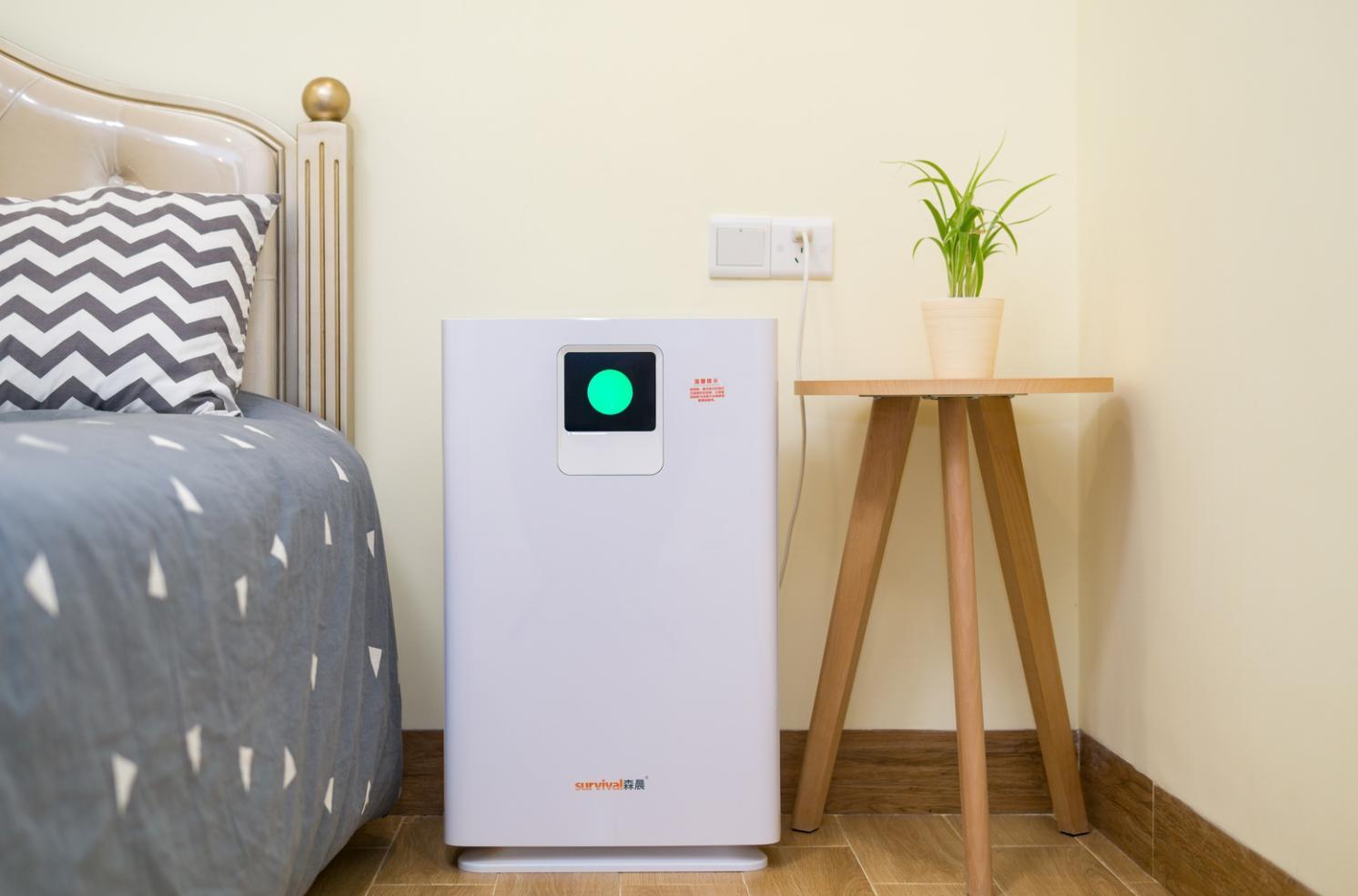 森晨MC9空气净化器,冬日家居除霾利器