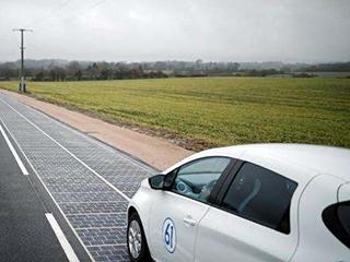 绍兴建成一段世界上承重最大的太阳能试验道路