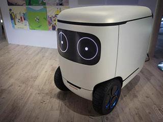 这是一部具备自动驾驶功能的移动冰箱
