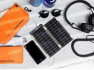 花148美元买一块太阳能面板 装在手机上能充电