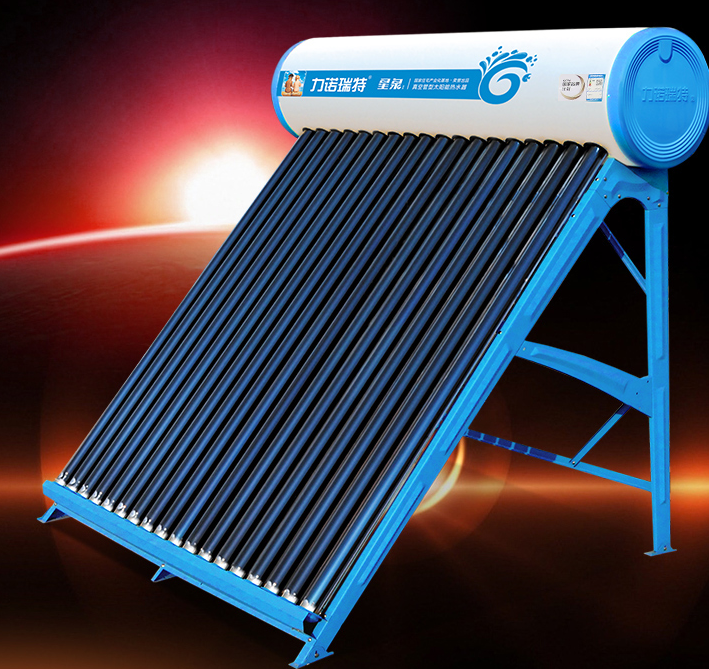 花一台钱买两台的服务 太阳能热水器很给力