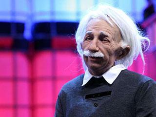 机器人版爱因斯坦警告人类:别把自己毁掉